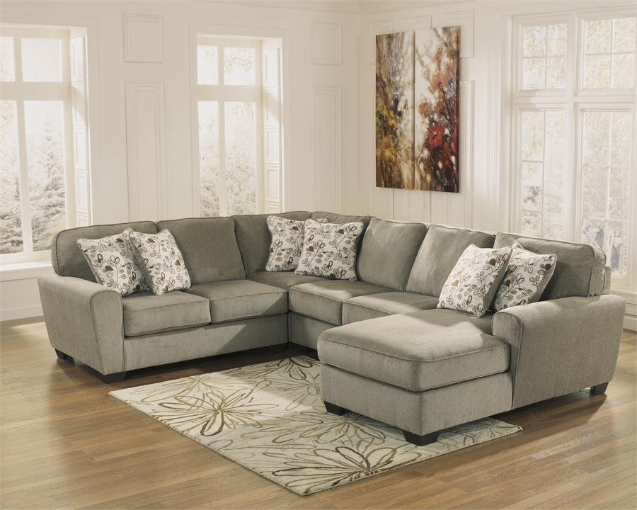 Amazing of Ashley Furniture Living Room Sets Sectionals Patola Park Patina Sectional Ashley Furniture