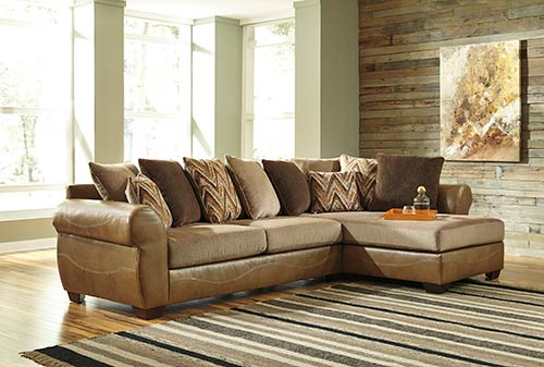 Amazing of Ashley Two Piece Sectional Shop For Benchcraft Declain Sand 2 Piece Sectional