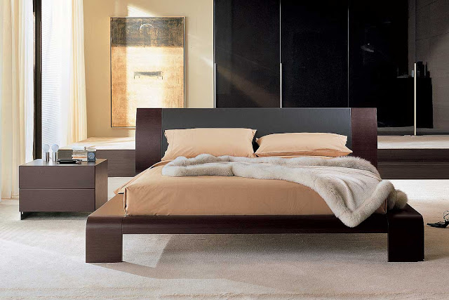 Amazing of Bed With Solid Base No Slats Modern Cabinet Design Modern Bedroom Furniture
