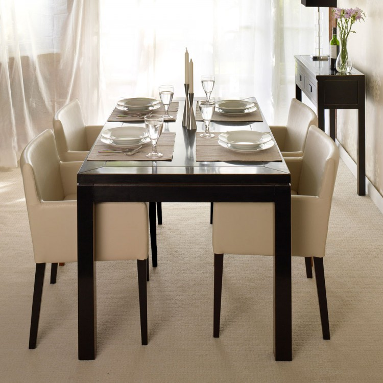 Amazing of Black And Cream Dining Chairs Dining Room Amazing Black And Cream Dining Table And Chairs Black