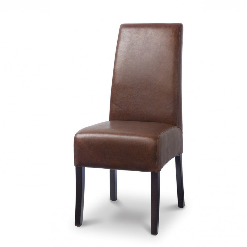 Amazing of Black Brown Dining Chairs Buy The Palecek Hudson Dining Chair With Brown Stitching Set Of