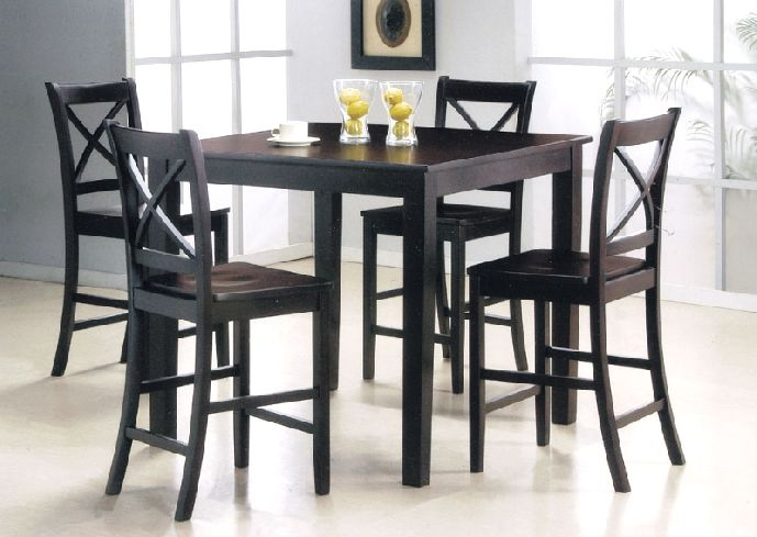 Amazing of Black Kitchen Chairs Small Black Kitchen Table And Chairs Genwitch