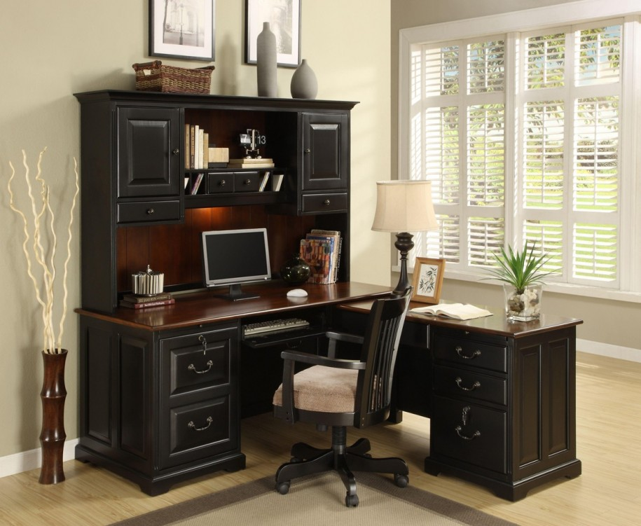 Amazing of Black Office Furniture Apartments Breathtaking Home Office Furniture Design Ideas With