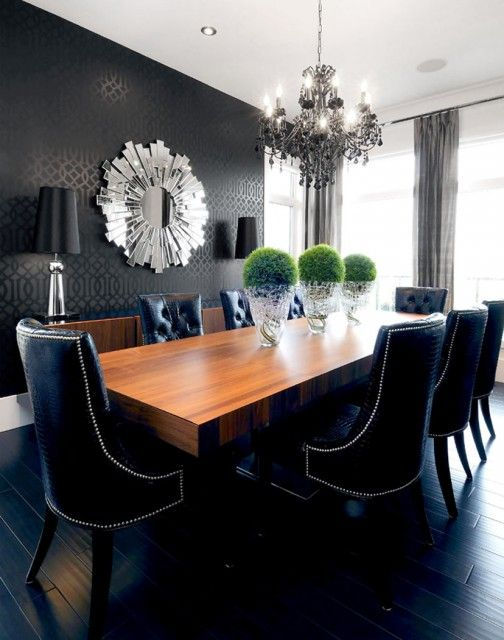 Amazing of Black Tufted Dining Room Chairs Best 25 Tufted Dining Chairs Ideas On Pinterest Dining Room