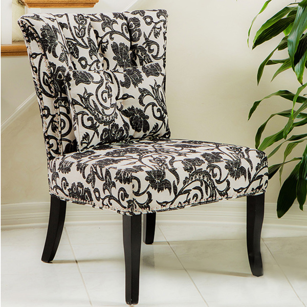 Amazing of Black White Accent Chair Fashionable Idea Accent Chairs Black And White Black And White