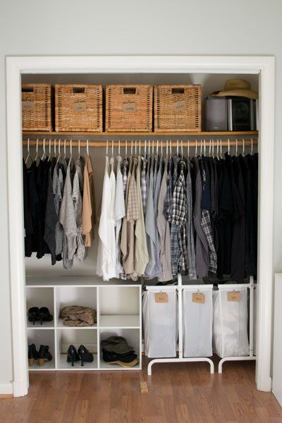 Amazing of Clothes Closet Design Ideas Best 25 Clothing Organization Ideas On Pinterest Clothes