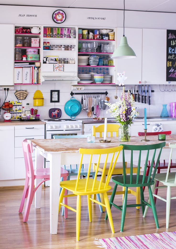 Amazing of Colorful Kitchen Chairs Best 25 Coloured Dining Chairs Ideas On Pinterest Bright Dining