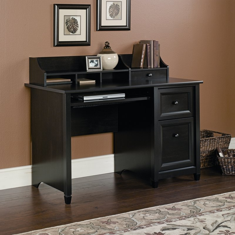 Amazing of Computer Desk With Hutch Three Posts Lamantia Computer Desk With Hutch Reviews Wayfair