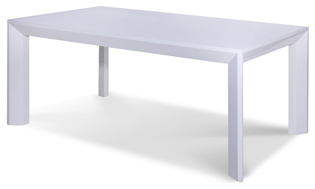 Amazing of Contemporary White Table Rob White Dining Room Table Modern Dining Tables The Media