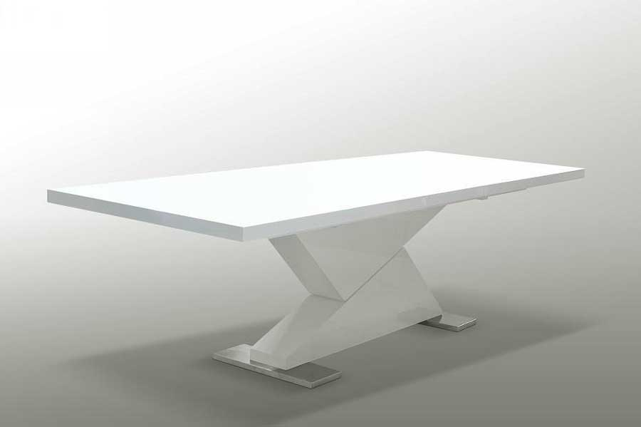 Amazing of Contemporary White Table White Contemporary Dining Table