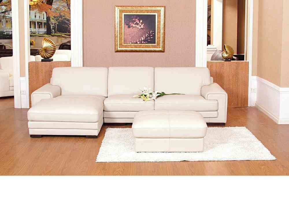 Amazing of Corner Couch With Chaise Chaise Corner Sofa Leather Mix Cream Black Brown Homegenies