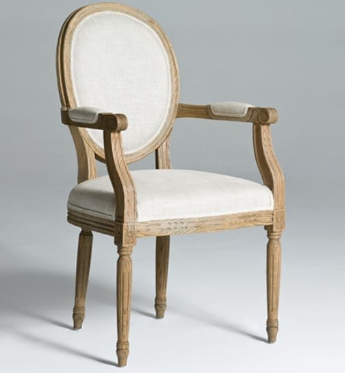 Amazing of Cushioned Dining Chairs With Arms Round Back Dining Chairs Arm Chair Natural Wood Legs Dining