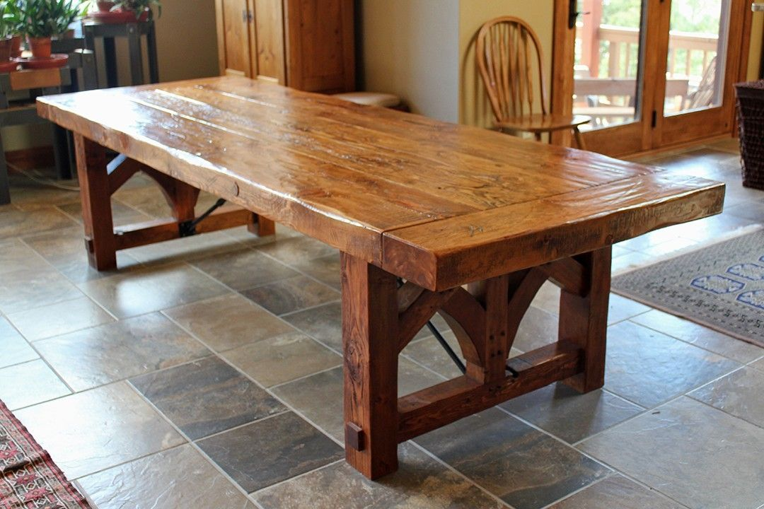 Amazing of Custom Dining Tables Dining And Kitchen Tables Farmhouse Industrial Modern