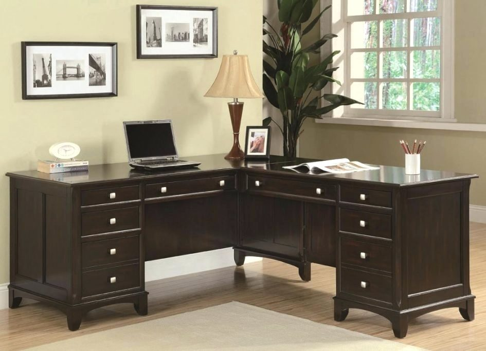 Amazing of Dark Wood Office Desk Desk Small Dark Wood Office Desk Furniture Small Corner Computer