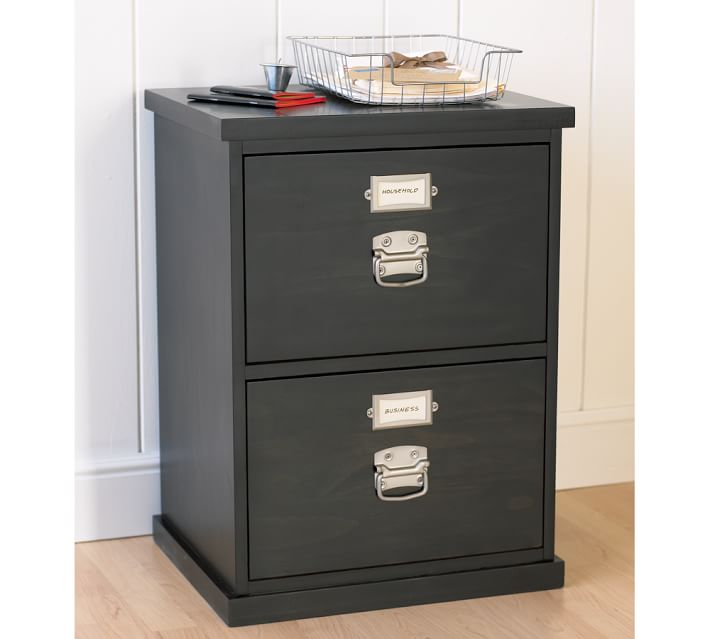 Amazing of Decorative File Cabinets Bedford 2 Drawer File Cabinet Pottery Barn