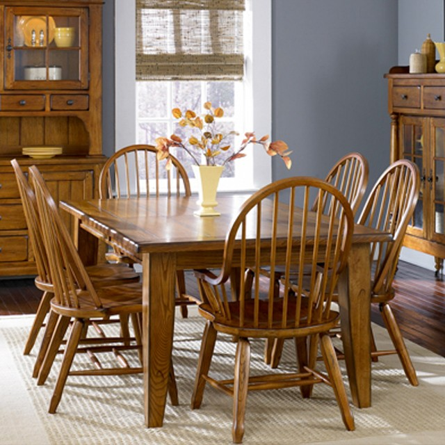 Amazing Of Dining Room Side Chairs With Arms Oak Treasures 7 Piece Set