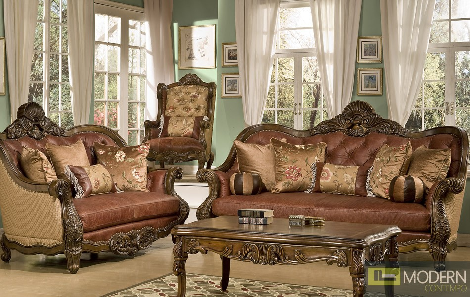 Amazing of Formal Living Room Furniture Traditional Sofa Set Formal Living Room Furniture Mchd1851