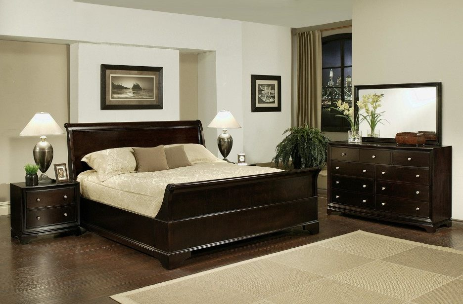 Amazing of Full Size Bed Furniture Set Full Size Bedroom Furniture Sets Brown Wooden Chest Of Drawer