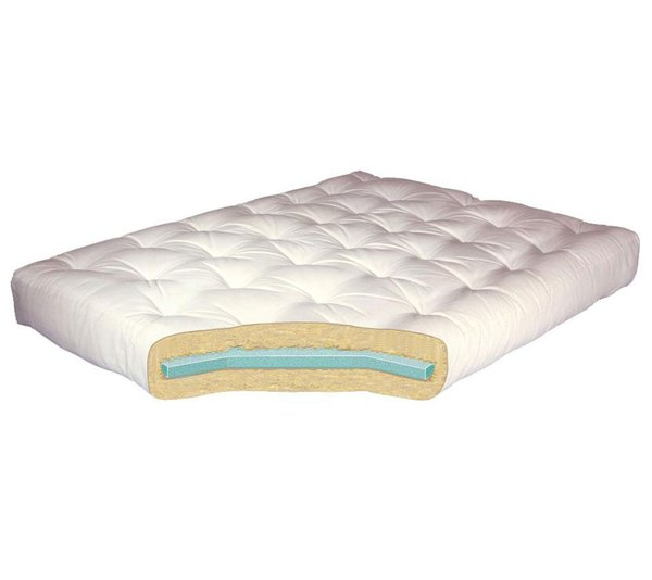 Amazing of Futon Bed And Mattress Gold Bond 8 Foam Cotton Futon Mattress Reviews Wayfair