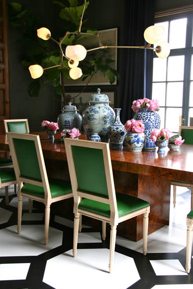 Amazing of Green Dining Chairs Emerald Green Chairs Contemporary Dining Room Grant K Gibson