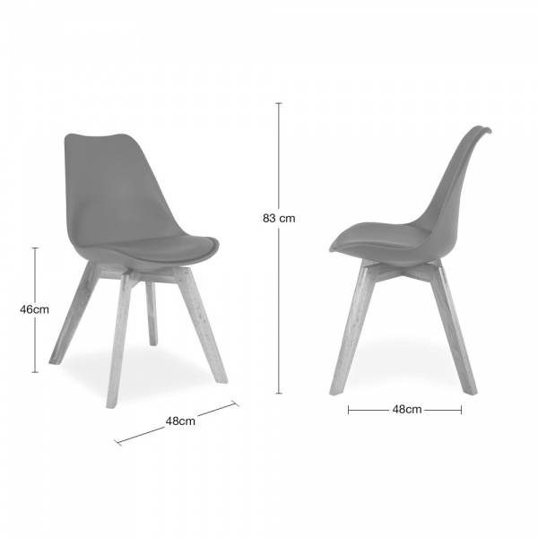 Amazing of Grey Dining Chairs With White Legs Cool Grey Dining Chair With Solid Oak Crossed Wood Legs Cult