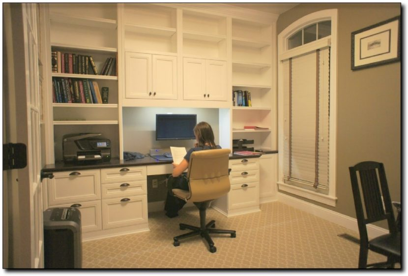 Amazing of Home Office Desk Cabinets Office Fabulous Built In Office Built In Home Office Cabinets