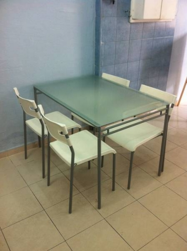 Amazing of Ikea Glass Dining Table And Chairs Ikea Dining Table Mit Ikea Norden Esstisch Eames Chairs Skantherm