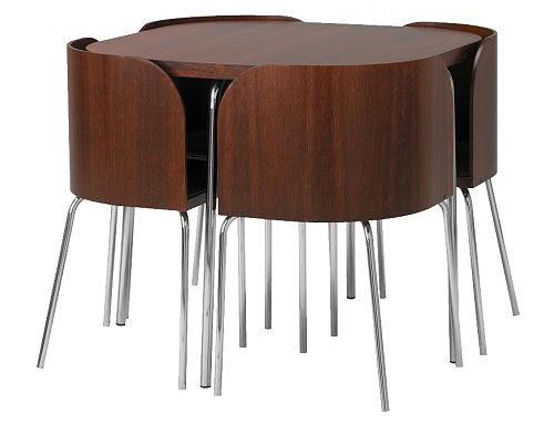 Amazing of Ikea Round Dining Table Ikea Fusion Small Spaces Dining Table And Chairs Set Ikea Round