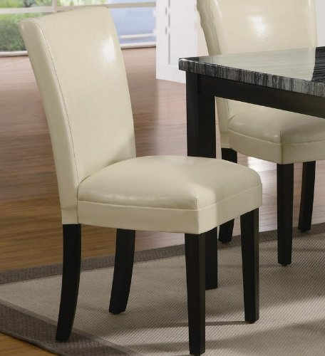 Amazing of Ivory Leather Dining Room Chairs Ivory Leather Dining Room Chairs Completureco