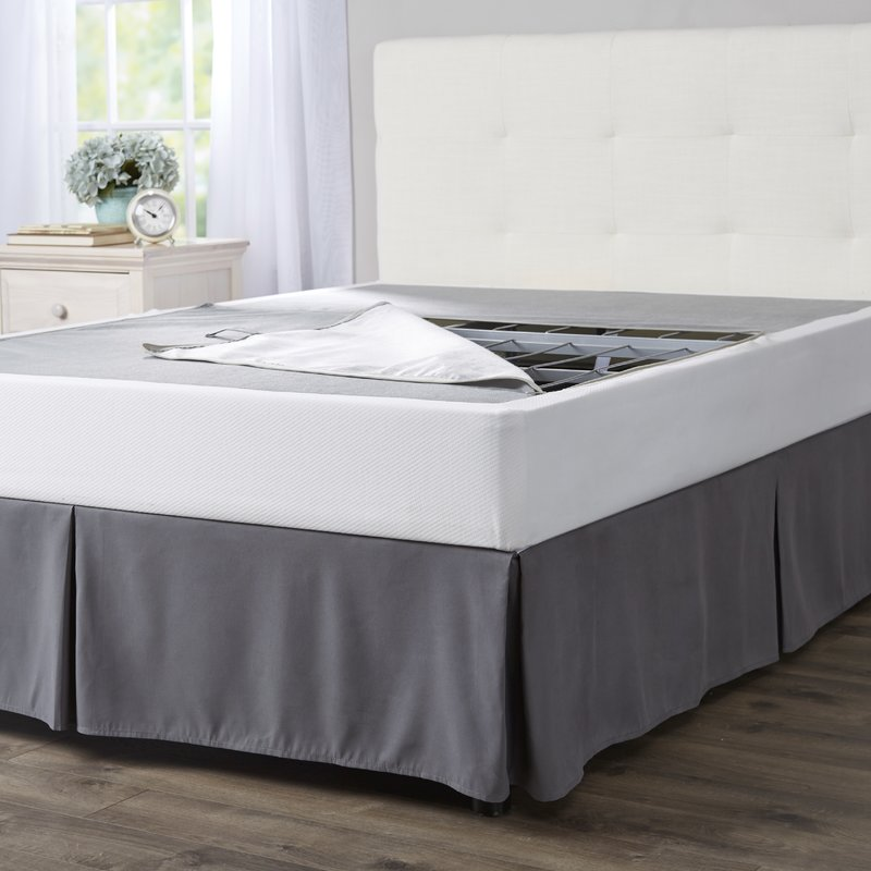 Amazing of King Bed Mattress And Box Spring Box Springs Mattress Foundations Youll Love Wayfair
