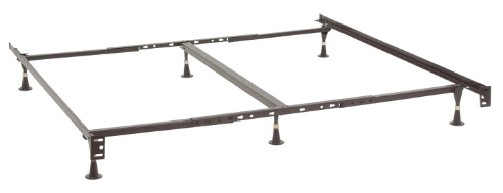 Amazing of King Size Metal Bed Base Portable Metal Bed Frames Sturdy Sturdy Sets Up In Minutes