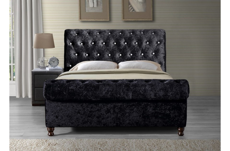 Amazing of King Size Sleigh Bed Frame King Size Sleigh Bed Frame Sleigh Bed Designs For A Wonderfully