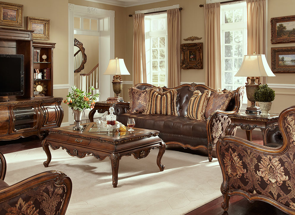 Amazing of Leather And Fabric Living Room Sets Lavelle Melange Leather And Fabric Sofa Set Aico Aico Living