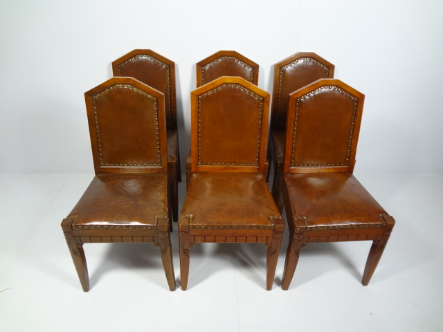 Amazing of Leather And Wood Dining Chairs Antique Leather And Wood Dining Chairs Mecox Gardens