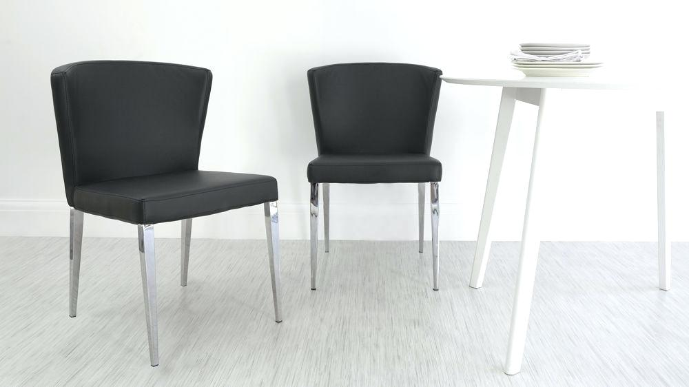 Amazing of Leather Dining Chairs Set Of 4 Black Glass Table With 4 Chairs Shaker Dining Set Of Leather Coco