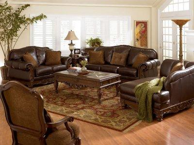 Amazing of Leather Sofa And Loveseat Dark Brown Full Protected Leather Modern Sofa Loveseat Set