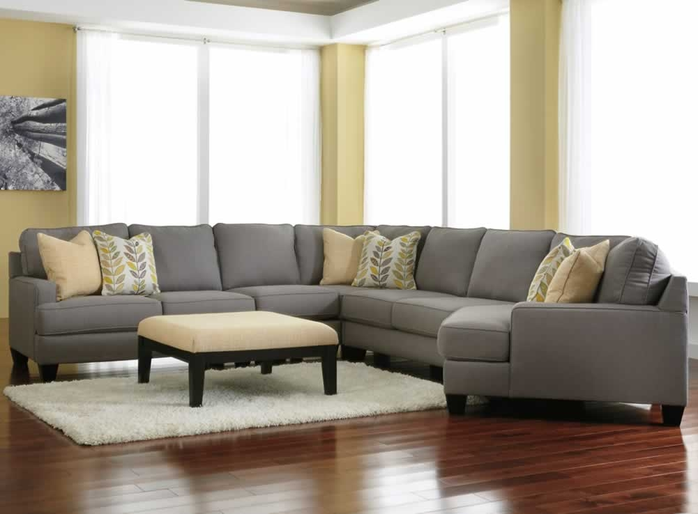 Amazing of Light Grey Sectional Couch Grey Fabric Sectional Sofa Dar Modern Set Ashfield Light