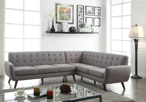 Amazing of Light Grey Sectional Couch Light Grey Sectional Sofa Sofas