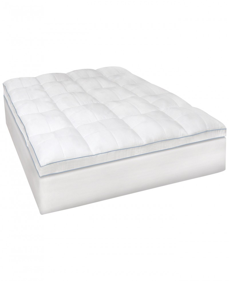 Amazing of Mattress Cover Padding Memory Foam Bedroom Wake Up Feeling Refreshed With Macys Mattress Topper
