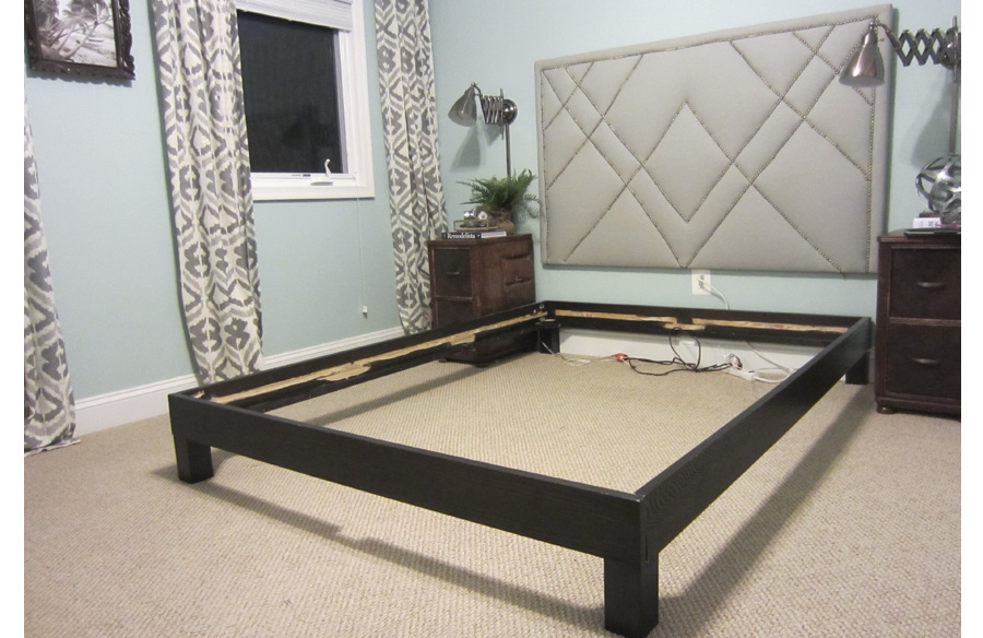 Amazing of Mattress On Bed Frame Without Box Spring How To Convert A Platform Bed For A Box Spring Little House Big City