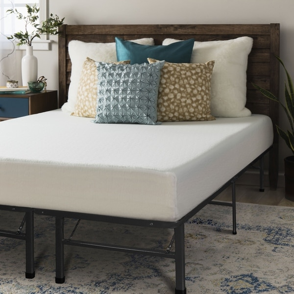Amazing of Memory Foam Mattress Frame Crown Comfort 8 Inch Full Size Bed Frame And Memory Foam Mattress