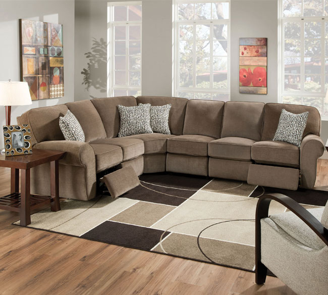 Amazing of Microfiber Reclining Sectional With Chaise Microfiber Reclining Sectional Create So Much Coziness Homesfeed