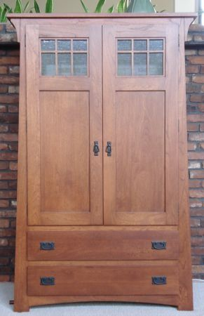 Amazing of Mission Style Armoire Wardrobe 706 Best Craftsman Furniture Images On Pinterest Craftsman