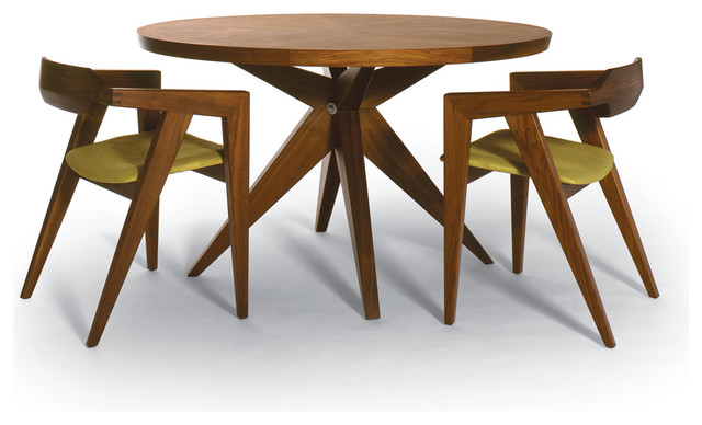 Amazing of Modern Round Wood Dining Table Enchanting Modern Round Dining Table And Picturesque Design Ideas