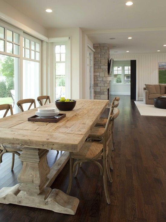 Amazing of Natural Wood Kitchen Chairs Best 25 Restoration Hardware Table Ideas On Pinterest Farm