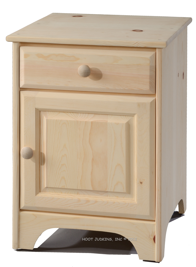 Amazing of Nightstand With Door And Drawer Hoot Judkins Furnituresan Franciscosan Josebay Areajc