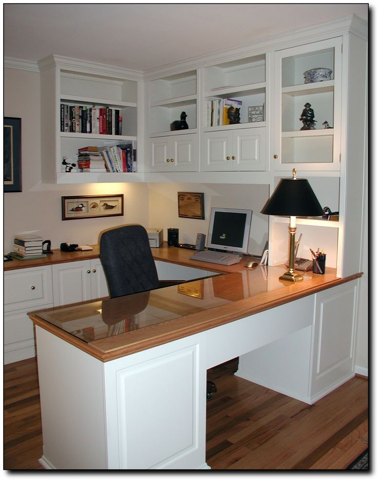Amazing of Office Chair With Built In Desk A Built In Desk With Bookcase And Cabinets Creates A Seamless Home