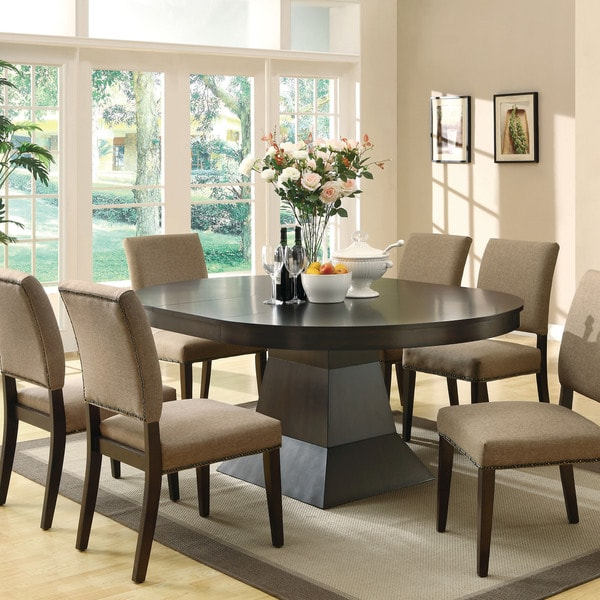 Amazing of Oval Dining Room Table Coaster Company Myrtle Oval Dining Table Free Shipping Today