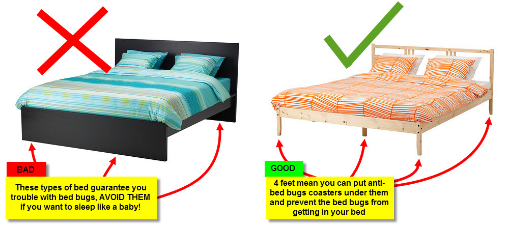 Amazing of Places To Get Bed Frames How To Protect Your Bedroom Against Bed Bugs Bed Bug Riddance
