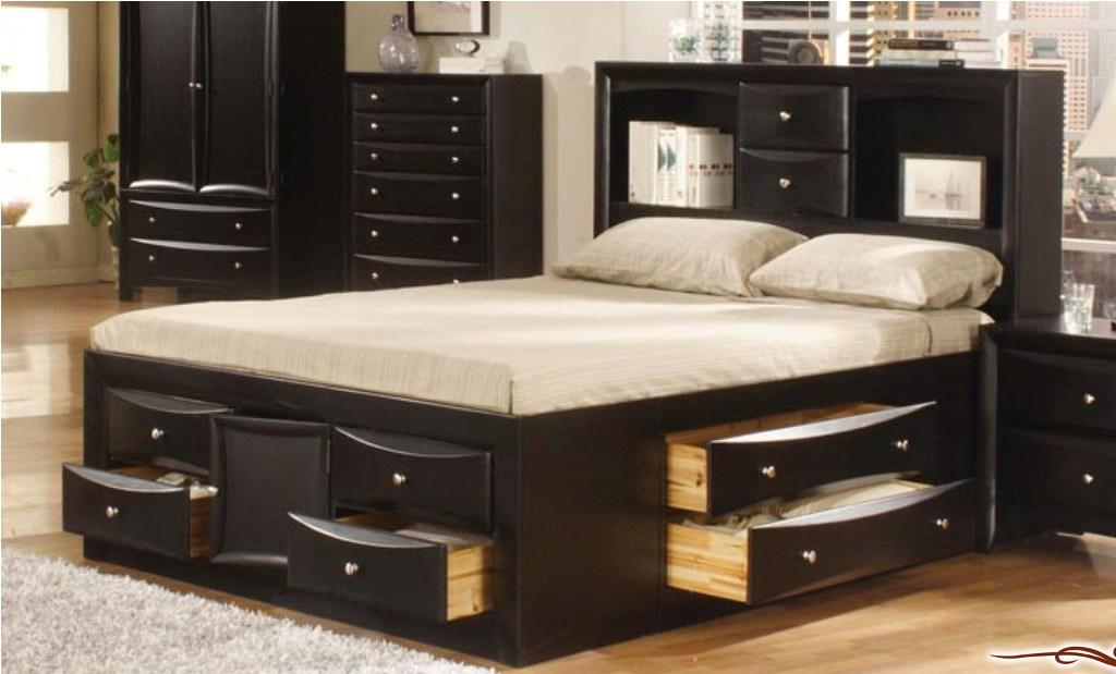 Amazing of Queen Bed And Frame Best Queen Bed Frame Storage Modern Storage Twin Bed Design
